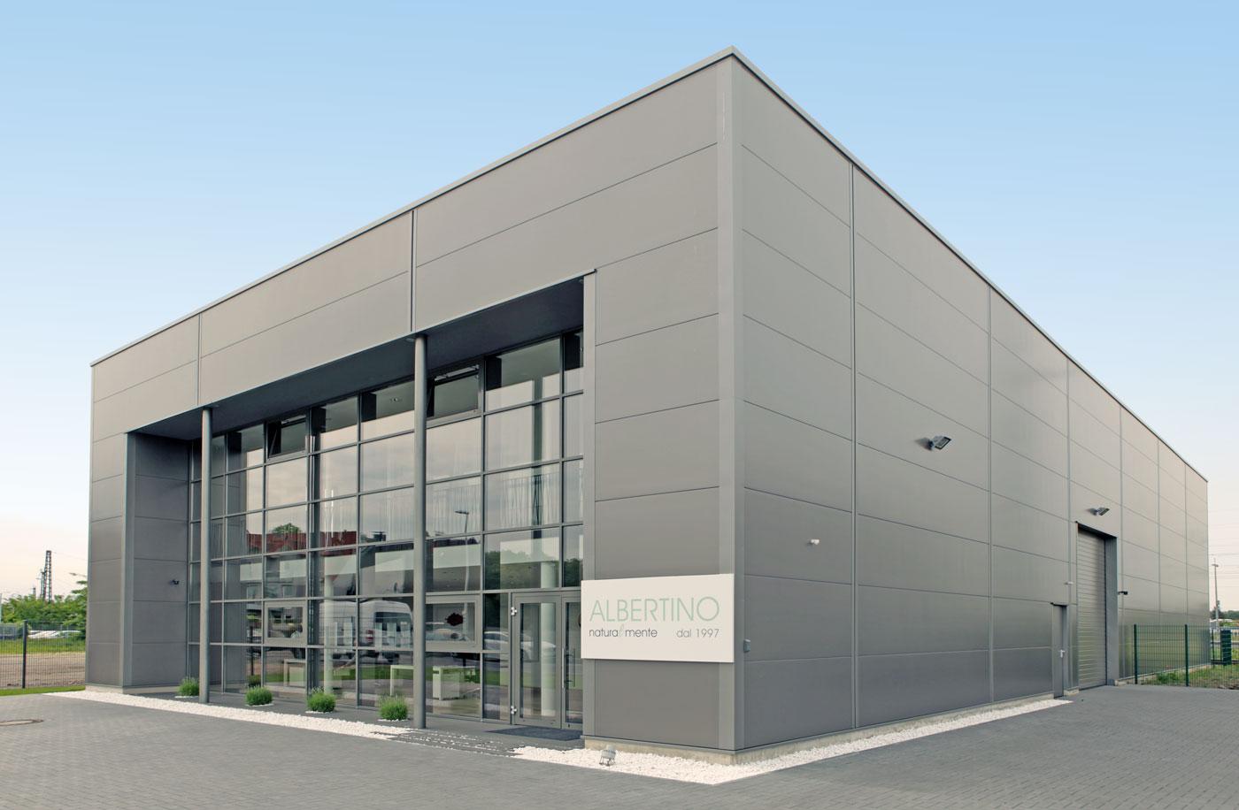 Albertino GmbH - Prodotti per imprenditori di gelato - Bahnhofsallee 15 40721 Hilden